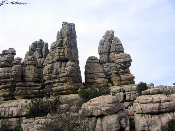 El Torcal de Antequera, uno de los más conocidos macizos calizos de España