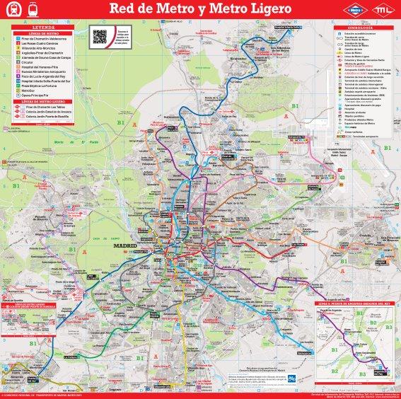 Lineas Mapa De Metro Madrid.Pagina Personal De Jose Carlos Canalda Articulos De